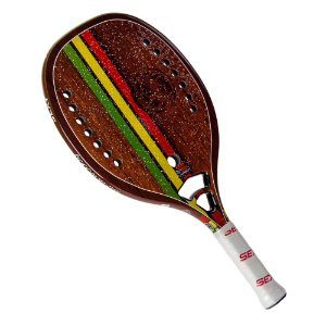 Raquete de Beach Tennis Sexy Rasta Wood