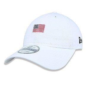 Boné 920 Mini Flag EUA Branco - New Era