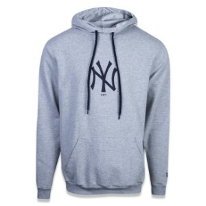 Casaco Moletom New York Yankees Essentials Litte Cinza - New Era