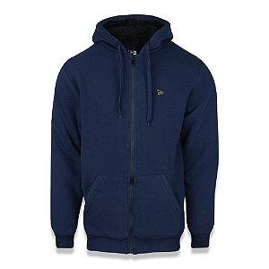 Moletom Sazonal Fur Branded Azul - New Era
