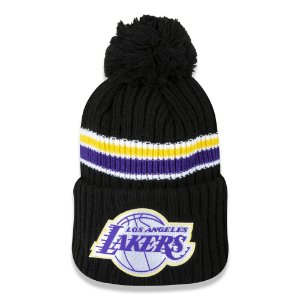 Gorro Los Angeles Lakers Black Hawk NBA - New Era