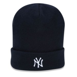 Gorro Touca New York Yankees Plaid Dupla Face - New Era