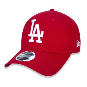 Boné Los Angeles Dodgers 3930 White on Red MLB - New Era
