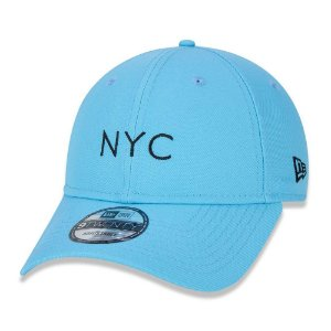 Boné 920 Simple Fluor NYC Azul - New Era