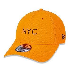 Boné 920 Simple Fluor NYC Laranja - New Era