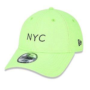 Boné 920 Simple Fluor NYC Verde - New Era