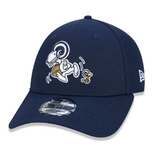 Boné Los Angeles Rams 940 Peanuts Snoopy Blue - New Era