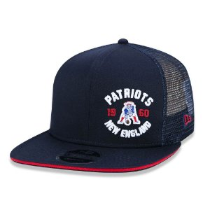 Boné New England Patriots 950 Arte Retrô - New Era