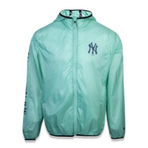 Jaqueta Windbreak New York Yankees Fraldada Colored Verde - New Era