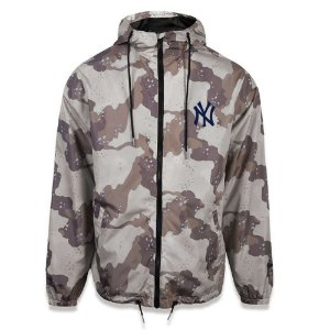 Jaqueta Windbreak New York Yankees Desert Camuflado - New Era