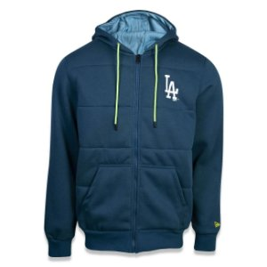 Casaco Moletom Los Angeles Dodgers Neon Light - New Era
