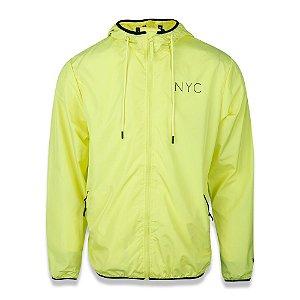 Jaqueta Quebra Vento Flúor NYC Amarelo - New Era