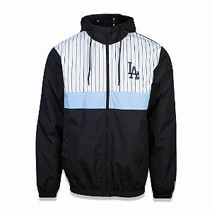 Jaqueta Quebra Vento Los Angeles Dodgers 90s Cont Stripe - New Era