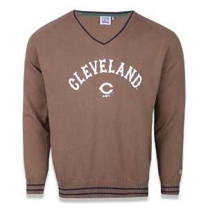 Camisa Tricot Cleveland Indians Heritage Word - New Era