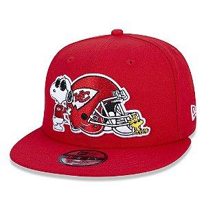 Boné Kansas City Chiefs 950 Peanuts Snoopy - New Era
