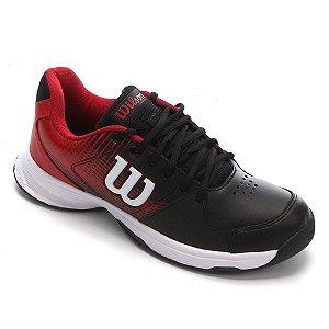 Tenis Wilson Ace Plus All Court Masculino Vermelho e Preto