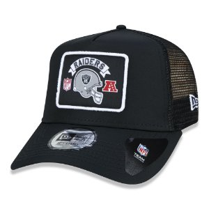 Boné Las Vegas Raiders 940 Wordmark Trucker - New Era