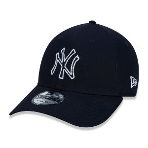 Boné New York Yankees 940 Outline Pontilhado - New Era