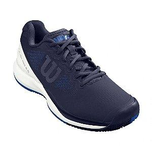 Tenis Wilson Rush Pro 3.0 Clay Court Masculino Azul / Branco