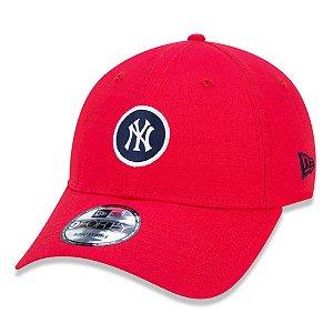 Boné New York Yankees 940 Essential Round Vermelho - New Era