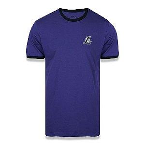 Camiseta Los Angeles Lakers 90s Continue Rib - New Era