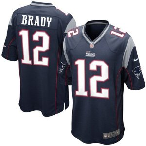 Camisa New England Patriots Tom Brady #12 Game