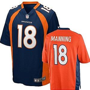 Camisa Denver Broncos Peyton Manning #18 Game