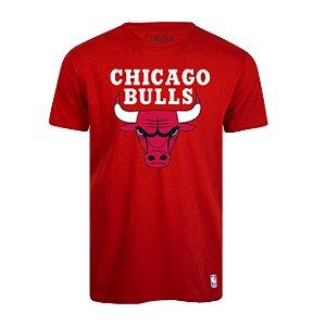 Camiseta Chicago Bulls Big Logo Vermelho - NBA