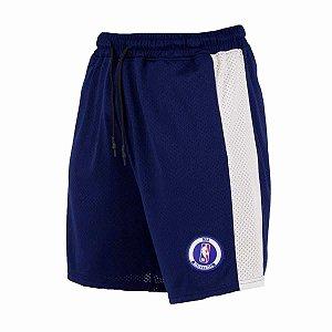 Bermuda Sintética Jersey Logoman - NBA