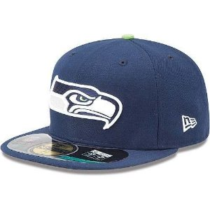 Boné Seattle Seahawks 5950 Azul - New Era