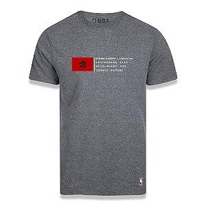 Camiseta Toronto Raptors Conference Cinza Escuro - NBA