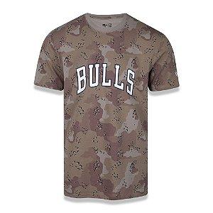Camiseta Chicago Bulls Desert Camo Full - New Era