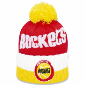 Gorro Houston Rockets Knit Pompom NBA - New Era