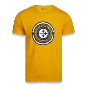 Camiseta Pittsburgh Steelers Extra Fresh Nation - New Era