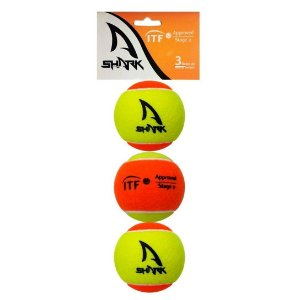 Kit 3 Bolas Beach Tennis - Shark