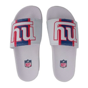 Chinelo Slide NFL New York Giants Branco e Azul