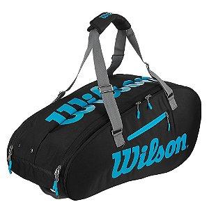 Raqueteira de Tenis Wilson Especial Ultra 9 Pack Térmica