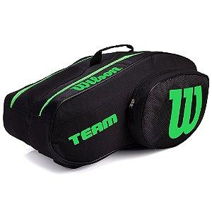 Raqueteira Bolsa de Padel Beach Tennis Wilson Especial Team