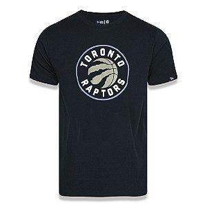 Camiseta Toronto Raptors Basic Logo NBA Preto - New Era