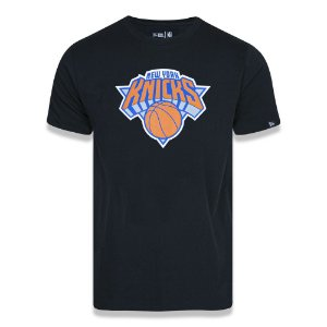 Camiseta New York Knicks Basic Logo NBA Preto - New Era