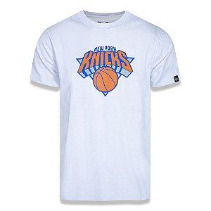 Camiseta New York Knicks Basic Logo NBA Branco - New Era