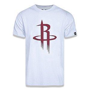 Camiseta Houston Rockets Basic Logo NBA Branca - New Era
