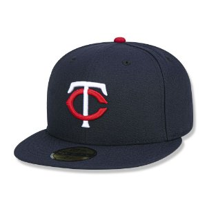 Boné Minnesota Twins 5950 Game Cap Fechado Marinho New Era