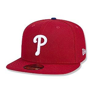 Boné Philadelphia Phillies 5950 Game Cap Fechado - New Era