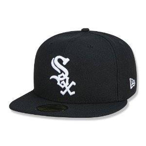 Boné Chicago White Sox 5950 Game Cap Fechado - New Era