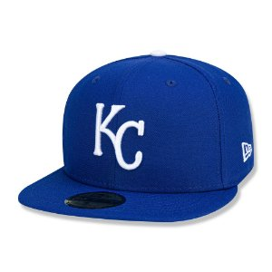 Boné Kansas City Royals 5950 Game Cap Fechado - New Era