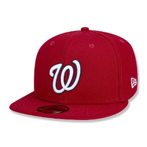 Boné Washington Nationals 5950 Game Cap Fechado - New Era