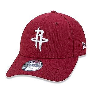 Boné New Era 940 Houston Rockets Core Embro NBA Aba Curva