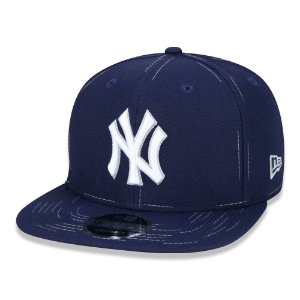 Boné New Era 950 New York Yankees Core Savvy Stitch Aba Reta