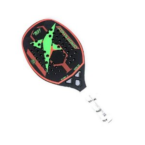 Raquete Beach Tennis Drop Shot Hexagon Pro BT Preto
